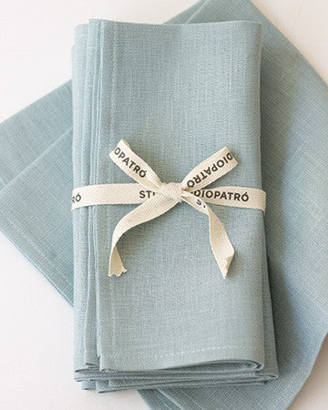 Linen Napkins in Ocean - Set of 4