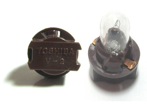 Toshiba V2 T6.5 Brown Socket A14V1.4W bulb