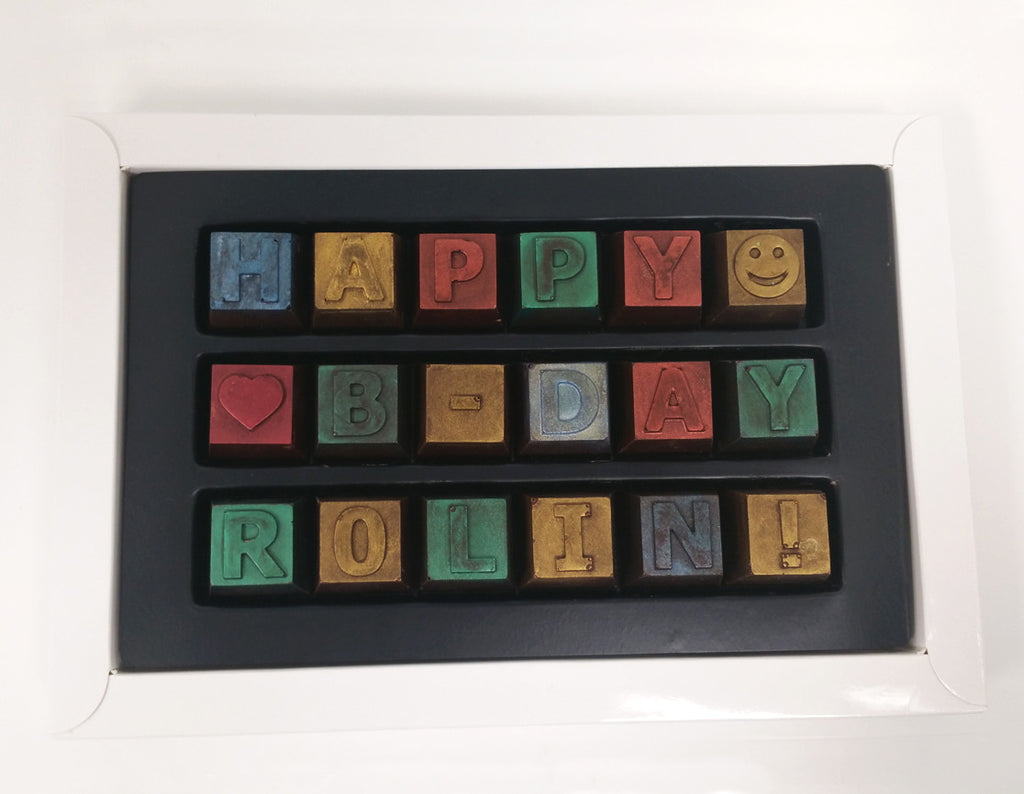 Say it in Chocolate - Artisan Chocolate Gift Box