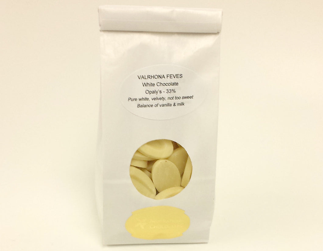 33% White - Opaly's - VALRHONA Chocolate Bags