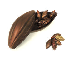Chocolate Cocoa Pod Box