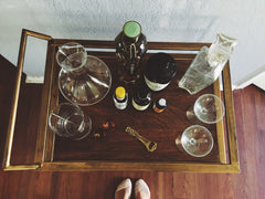 Susanna Cassady Home Bar Top View