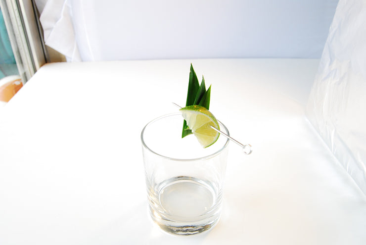 pineapple lime garnish