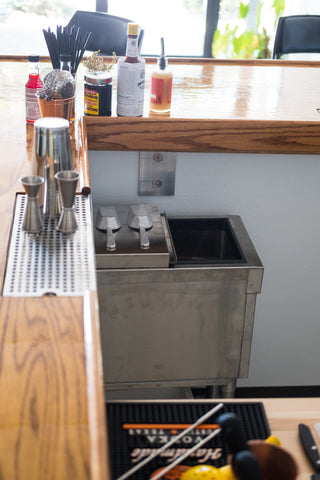 office bar close up