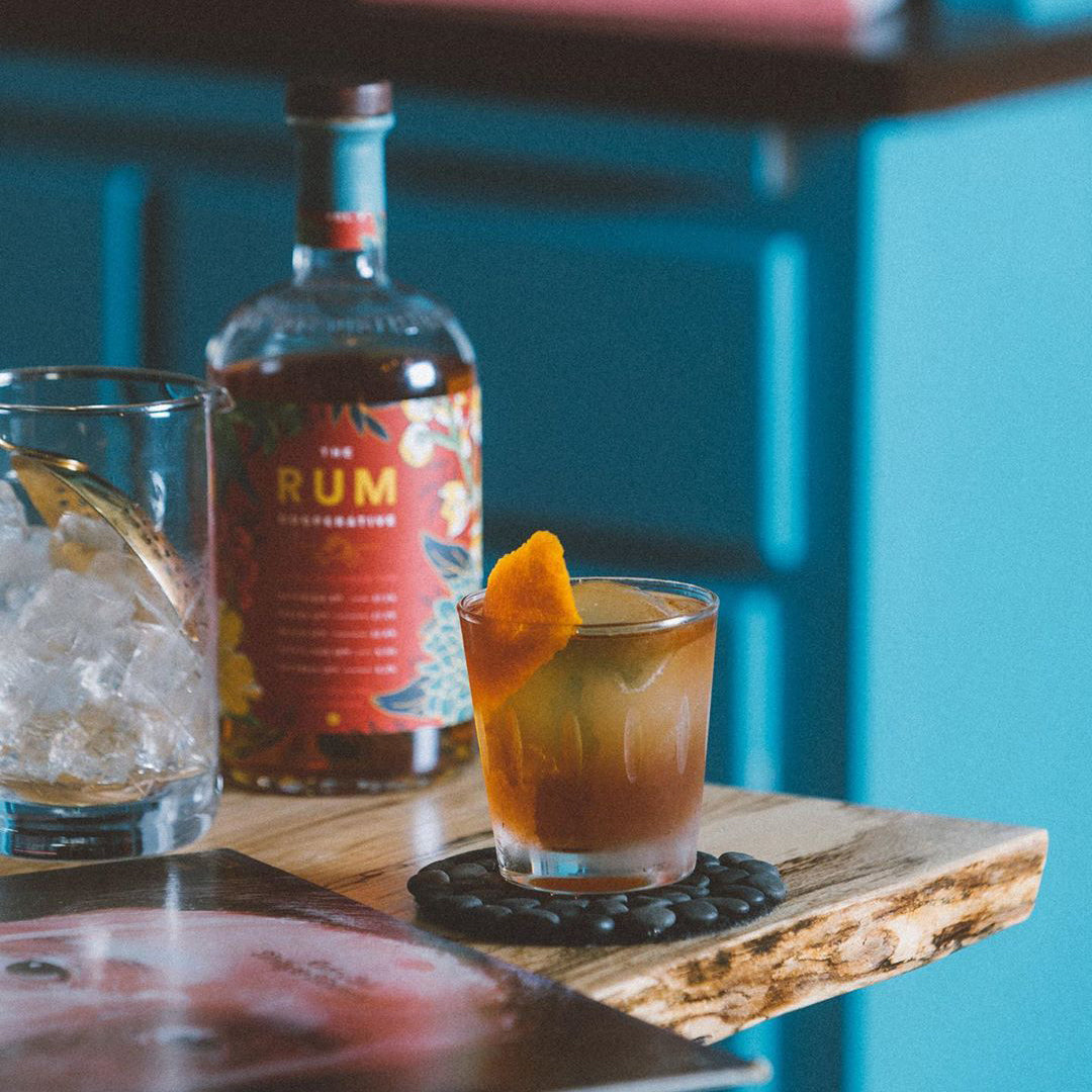 Tiki Rum Old Fashioned