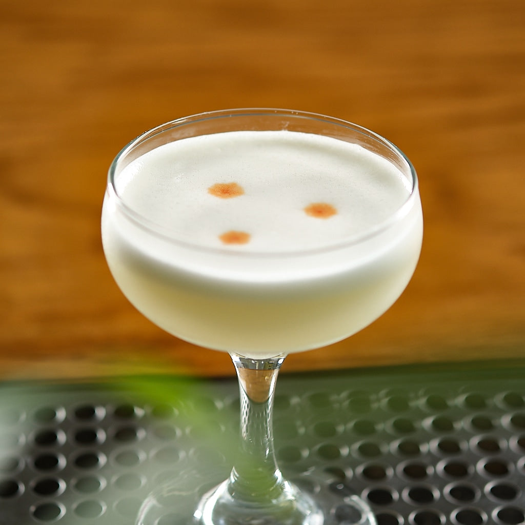 Toasted Coconut Pisco Sour