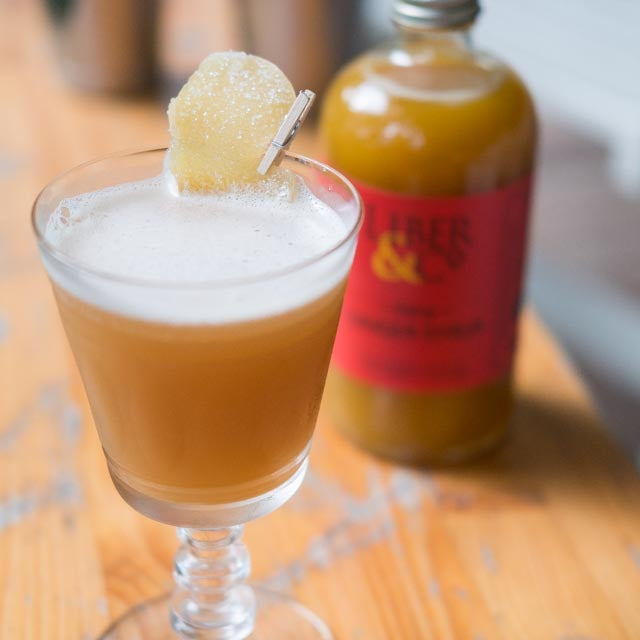 Ginger Apple Cider Cocktail