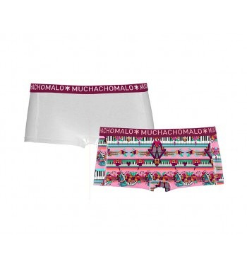 MUCHACHOMALO* Ladies 2-Pack Boyshorts