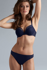 MAURITSHUIS PADDED PUSH-UP ( FRONT CLOSURE )