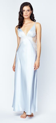 CHRISTINE LINGERIE* Silk Charmeuse Long Gown