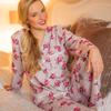 MODAL & COTTON PAJAMA SET 4X PRINTS