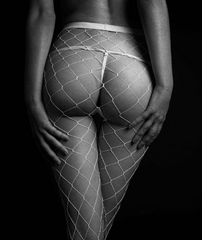 HANDMADE FISHNET STOCKINGS ( 2X COLOURS )