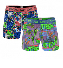 MUCHACHOMALO* Boys 2 Pack Boxers