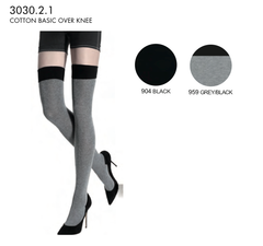 ITALIAN OVER THE KNEE SOCKS ( 2X COLOURS )