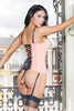 COQUETTE* Lace Up Bustier