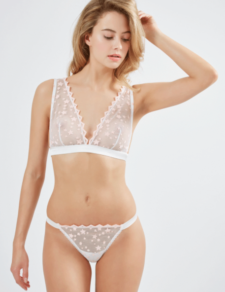 MIMI HOLLIDAY* Starry Eyed Shoulder Triangle Bra