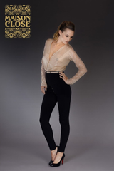 MAISON CLOSE* LA CAVALIERE CATSUIT