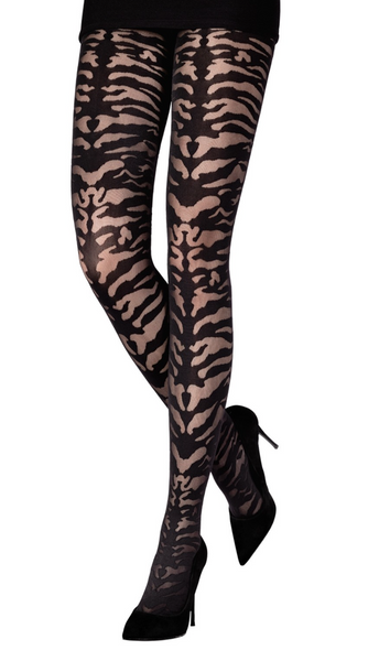 70 DEN ANIMAL PRINT SHEER TIGHTS