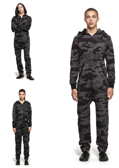 ONEPIECE* Camouflage Jumpsuit