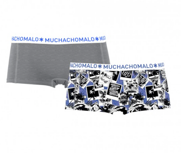 MUCHACHOMALO* Womens Boy Short