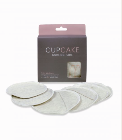CAKE LINGERIE* Cupcake Re-Usable Nursing Pads (3pair)