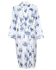 Harper Woven Long Sleeve London Print Long Dressing Gown