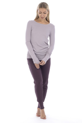 LINDA COTTON LONG SLEEVE TOP X4 COLOURS