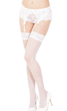 COQUETTE* Fishnet Thigh High Stocking