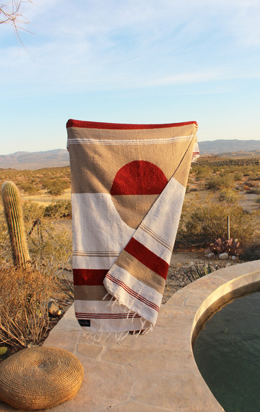 SUNRISE DREAMWEAVER COLLECTION - TRADITIONALLY WOVEN ARTISAN BLANKET