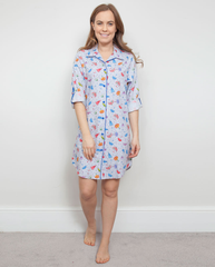CRISTIE COTTON MODAL SLEEP SHIRT