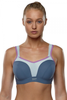 PINACHE* Wired Full Bust Sports Bra (32-40 Backs, G-J Cups)