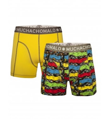 MUCHACHOMALO* Boys 2-Pack Boxer Brief