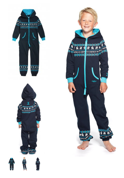 ONEPIECE* Folklore Kids Jumpsuit