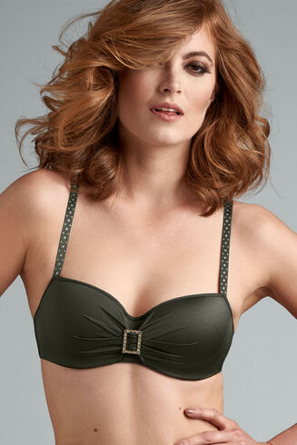EMERALD LADY PADDED BALCONY BRA
