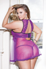 COQUETTE* Plus Size Babydoll & G-String