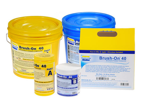 Brush-On High Tear Strength Brushable Urethane Rubber