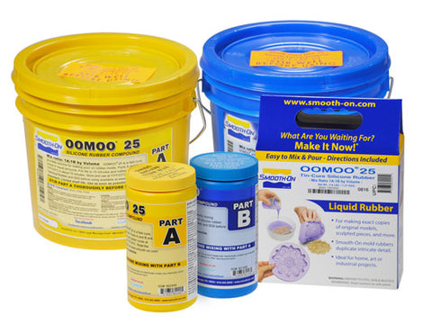 OOMOO Silicone Rubber - No Scale or Vacuum Chamber Required