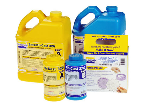Smooth-Cast 320 Series Liquid Plastic - Easier To Pigment