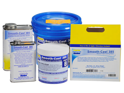 Smooth-Cast 385 - Mineral Filled Liquid Plastic
