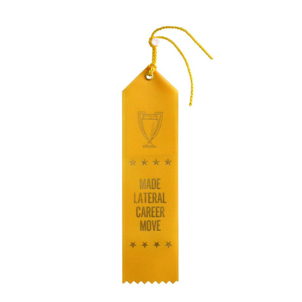 Made Lateral Career Move Ribbon