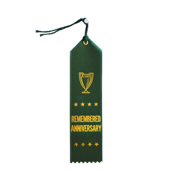 Remembered Anniversary Ribbon