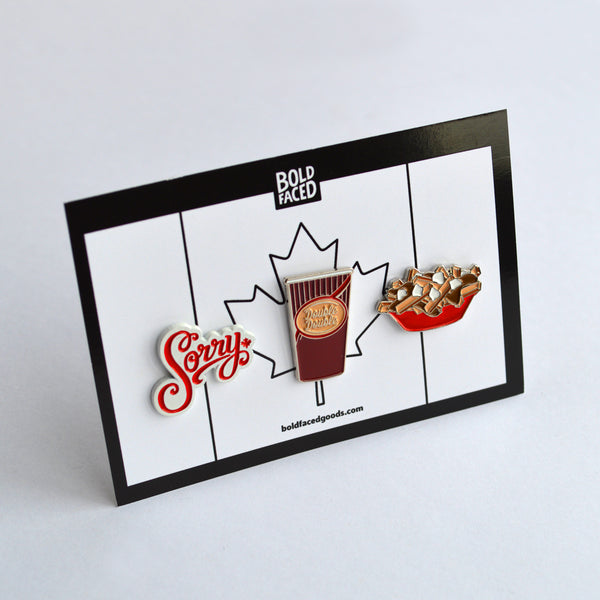 Canadian Pin Set