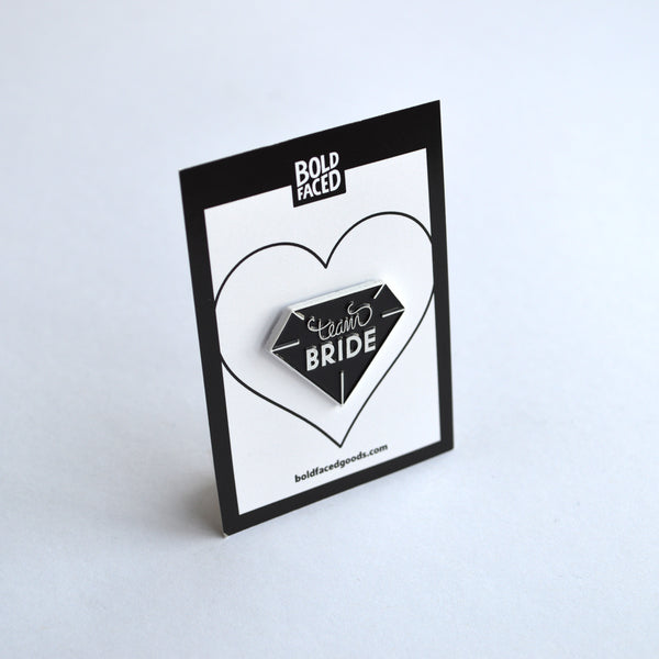 Team Bride Pin