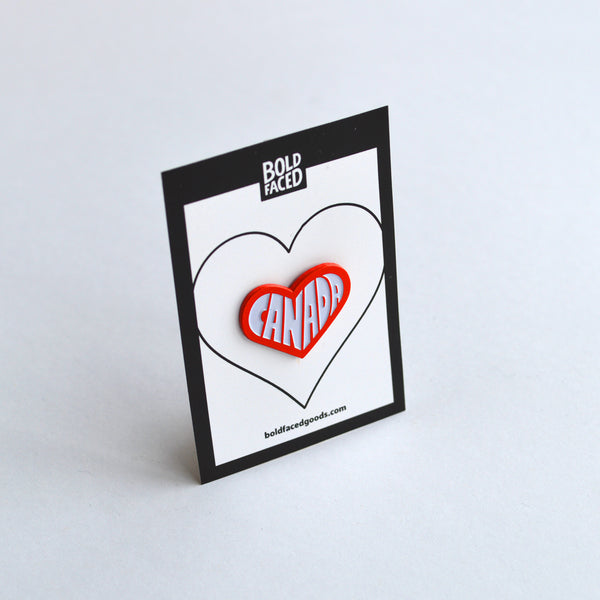 Glowing Heart Pin