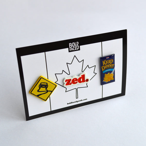 Unapologetically Canadian Pin Set