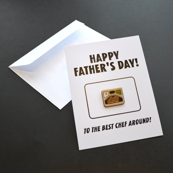 Happy Father's Day! Pin Card