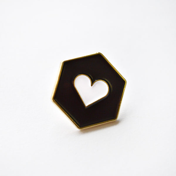 Fairgoods Heartnut Pin