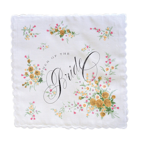 Clearance Mother of the Bride Handkerchief