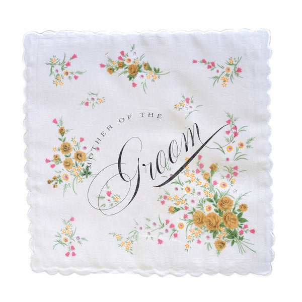 Clearance Mother of the Groom Handkerchief