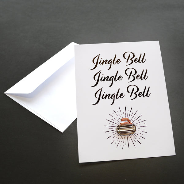 Jingle Bell Rock Pin Card